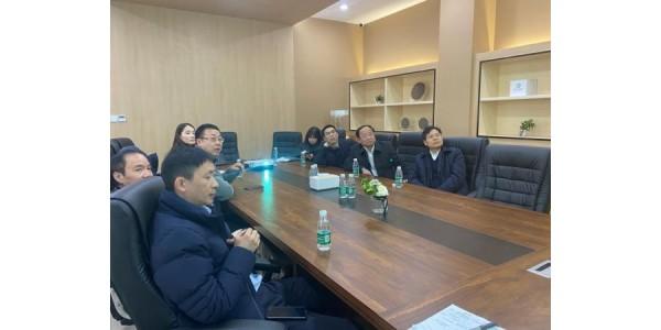 快讯  | 余杭区委常委、副书记李忠誉同志一行来访奥趋光电