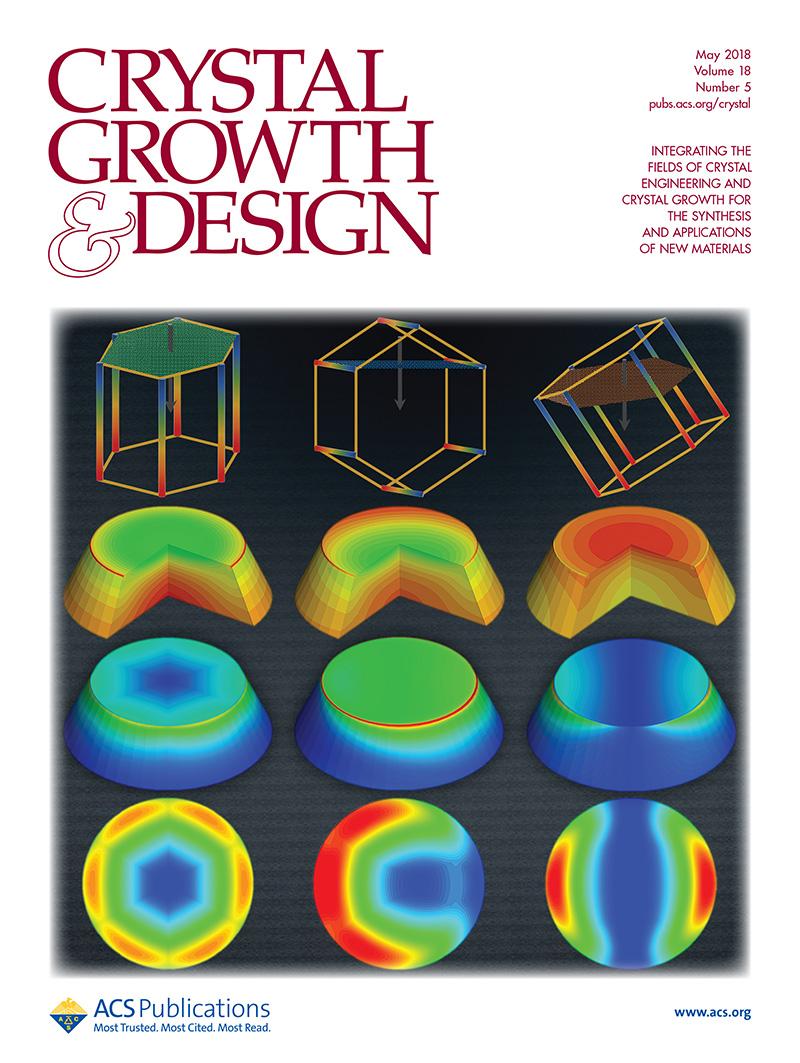 奥趋光电在世界上首次成功开发出AlN单晶生长二维/三维各向异性应力模块,相关成果在Crystal Growth & Design等期刊发表,并被选为Crystal Growth & Design期刊封面